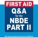 کتاب First Aid Q&A for the NBDE Part II