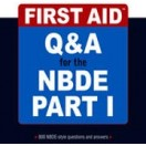 کتاب First Aid Q&A for the NBDE Part I